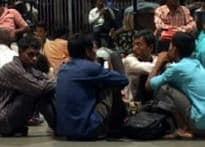 Mumbai chokes on rain, grinds to halt