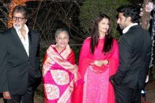 Snapshot: Aishwarya Rai, Amitabh Bachchan, Rekha attend Ahana Deol and Vaibhav Vora's wedding reception