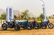 Harley-Davidson Introduces Flat Track Racing in India, Conducts 1st Session in Jaipur