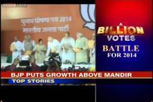 A Billion Votes: BJP releases manifesto, puts growth above Ram Mandir