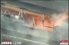 Kolkata: Fire in Chatterjee International building near Park Street, no casualties