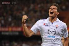 Mario Gomez ends misery with brace in Fiorentina cup win