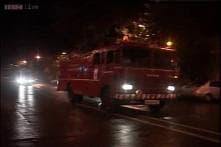Pictures: Major fire on submarine INS Sindhurakshak after explosion