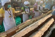 Sugar Rush: Kerala Bakers and Chefs Build 6.5km Long Vanilla Cake, Set New World Record