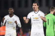 Manchester United's Mata and Ibrahimovic Sink 10-man West Ham