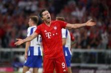 Bundesliga: Robert Lewandowski to the Rescue as 'Lucky' Hertha Berlin Hold Bayern Munich