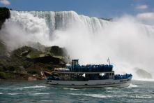 In a Rare Incident, Man Survives Plunge over Niagara Falls