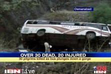 Maharashtra: 32 pilgrims killed in bus accident