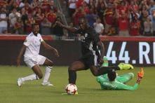 Mourinho Pleased As 'Top Striker' Lukaku Opens Account