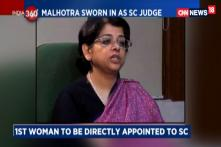 Indu Malhotra Sworn in as Supreme Court Judge