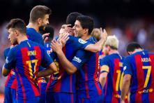 Luis Suarez Hits Hat-Trick as Barcelona Thump Real Betis 6-2