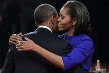 Delayed by debate, Obamas finally mark 20th anniversary