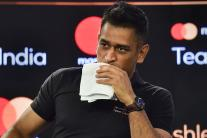 Dhoni's 1st Public Appearance After Team India's World Cup Exit