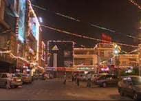 Capital lights up to celebrate Diwali