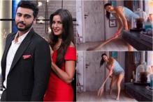 Katrina Kaif Turns Sweeping the Floor Into Cricket Game; Arjun Kapoor Calls Her Kantaben 2.0