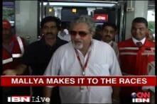 Vijay Mallya in Delhi for the F1 Indian Grand Prix