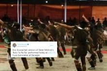 This Arunachali Version of Daler Mehndi's 'Bolo Ta Ra Ra' Left Everyone Grooving at BJP Yuva Event