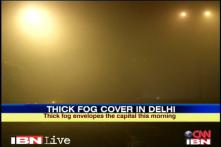 Delhi: Thick fog leads to flight delays, train services hit