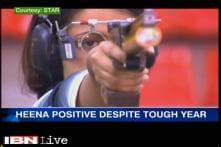 Shooter Heena Sidhu positive despite tough year