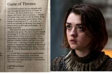 This Girl From Lahore Wants Mondays to be Declared as 'Game of Thrones' Holidays
