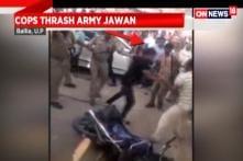 Cops Thrash Army Jawan in Ballia