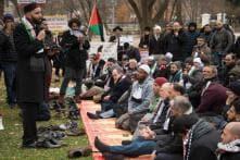 Muslims Take Friday Prayers to Trump Doorstep After Jerusalem Move