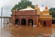 Raging Krishna River Creates Flood Scare Afresh in North Karnataka After Heavy Rains