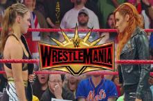 WrestleMania: WWE Star O'Neil Upbeat on Women Headlining Main Event