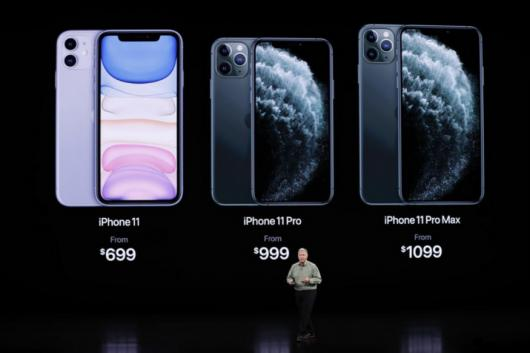 iPhone 11, iPhone 11 Pro and iPhone 11 Pro Max (Image: Reuters)
