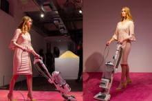 Ivanka Trump Responds To Look-Alike Who Cleans Crumbs As Part Of Art Exhibit