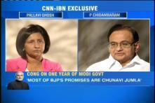 Congress leader P Chidambaram says Narendra Modi's 'achhe din' promise was just an election jhumla