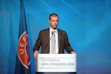 Slovenia's  Aleksander Ceferin Elected as UEFA President