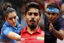 Sathiyan, Sharath and Manika to Lead 10-member Indian Team at Asian Table Tennis Championships