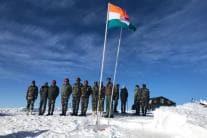Northern Army Commander Lt General Ranbir Singh Visits Forward Areas in J&K; See Pics