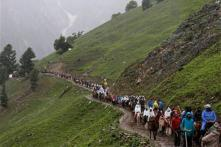 Fresh batch of 418 pilgrims leave Jammu for Amarnath
