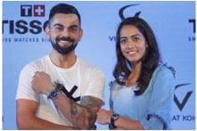 Twitter Slams Virat Kohli for 'Trying to Look Taller' than Karman Kaur Thandi but Fans Don't Buy It