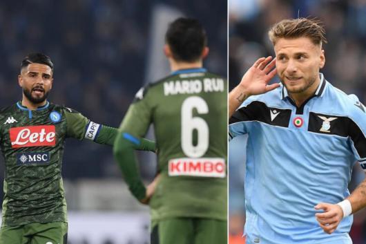 Napoli and Lazio (Photo Credit: Reuters)