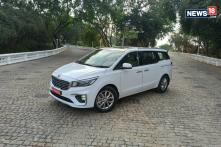 Auto Expo 2020: Kia Carnival Premium MPV Launched in India at Rs 24.95 Lakh