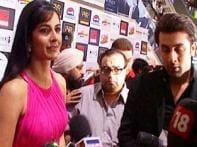Watch: Team <i>Ajab Prem...</i> in Capital for premiere