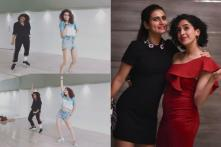 Fatima Sana Shaikh, Sanya Malhotra Flaunt Their Incredible Dance Moves As They Groove To Nora Fatehi's Dilbar; Watch