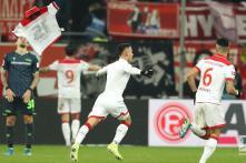 Fortuna Dusseldorf Score Late to Register First Bundesliga Win Since November