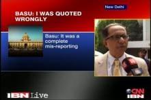 Kaushik Basu blames media for misreporting