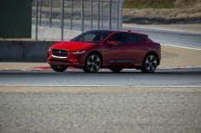 Jaguar I-Pace SUV Sets Record Lap Time for Production EVs at WeatherTech Raceway Laguna Seca