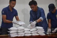 Thailand Seizes 176 Kg of Crystal Meth Hidden in Treadmills Bound for Japan