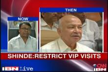 Shinde restricts VIP visits to U'khand but Cong slams Jaitley, Sushma for no show