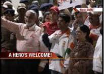 Bindra household celebrates Abhinav's return