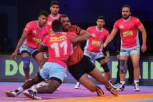 U Mumba vs Jaipur Pink Panthers, Pro Kabaddi 2018: As It Happened