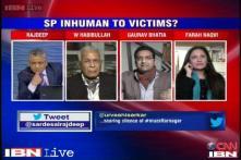 Has UP govt behaved in inhuman manner towards Muzaffarnagar riot victims?