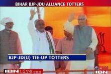 BJP, JD-U love affair hits rough patch