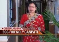Mumbai family goes green with Ganesh festivities